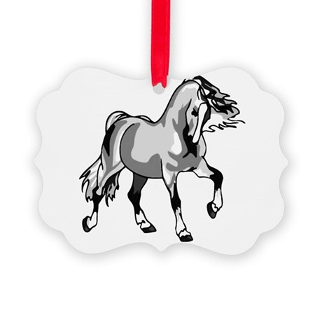 horse3a.png Picture Ornament
