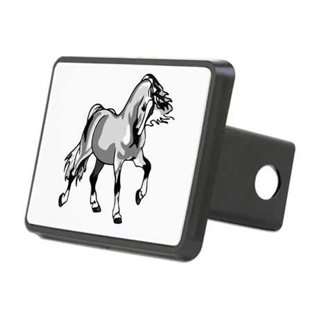 horse3a.png Rectangular Hitch Cover