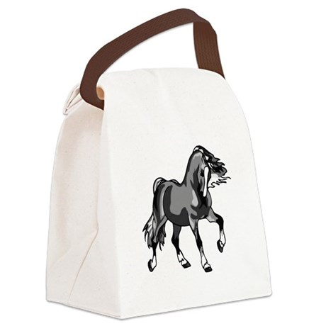 horse3.png Canvas Lunch Bag