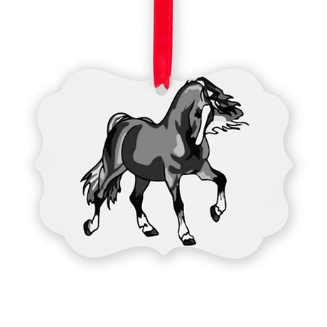horse3.png Picture Ornament