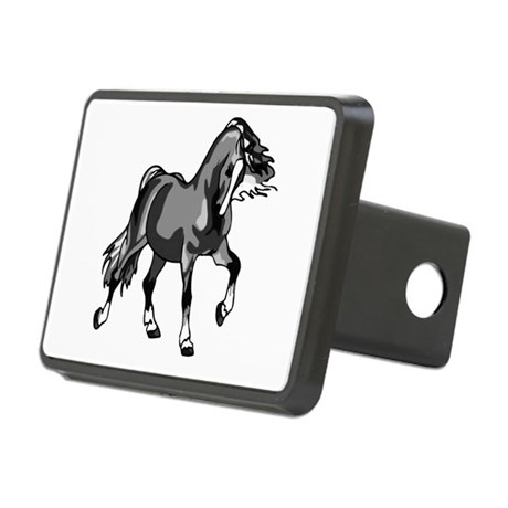 horse3.png Rectangular Hitch Cover