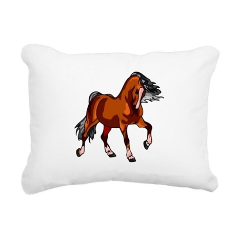 horse.png Rectangular Canvas Pillow