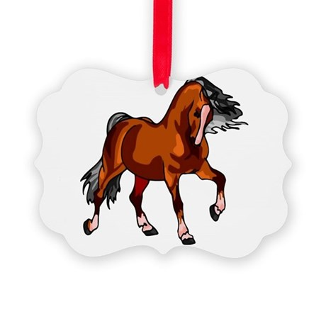 horse.png Picture Ornament