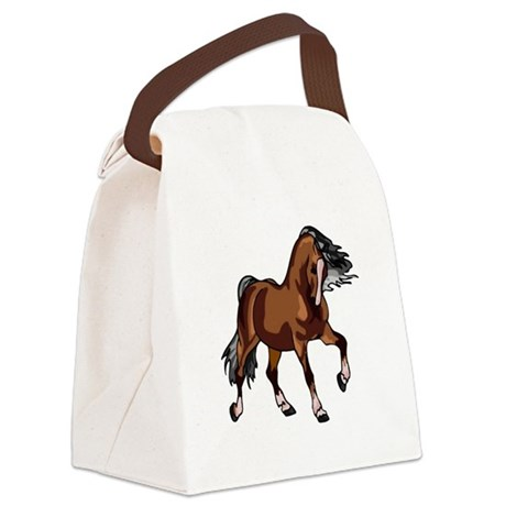 horse1.png Canvas Lunch Bag