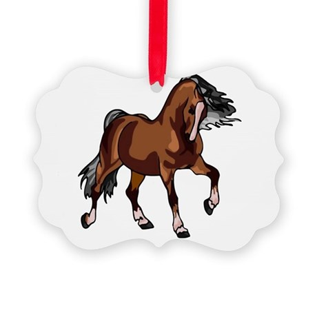 horse1.png Picture Ornament