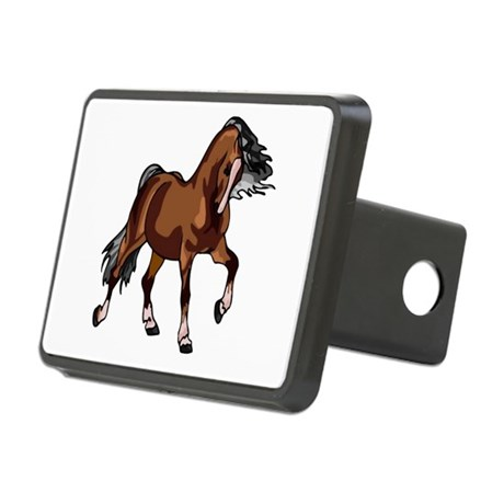 horse1.png Rectangular Hitch Cover