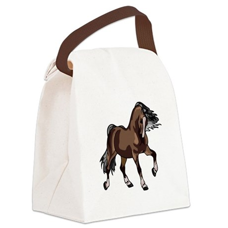 horse2 Canvas Lunch Bag