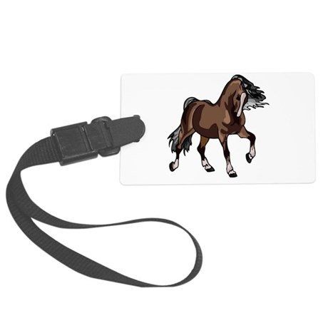 horse2 Large Luggage Tag