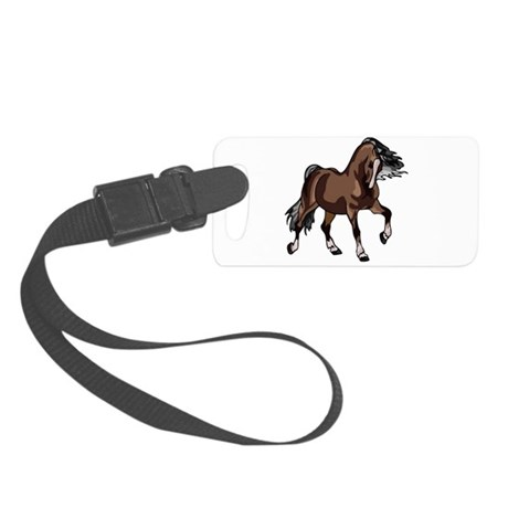horse2 Small Luggage Tag