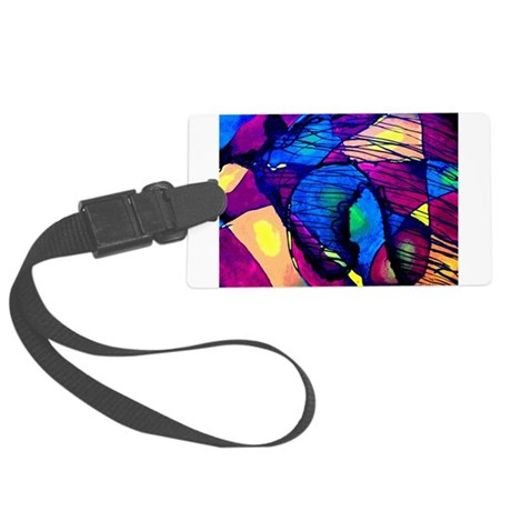 Spirit of the Horse Large Luggage Tag