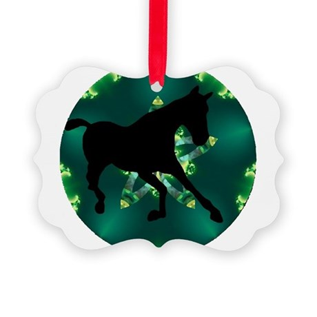 Horse Picture Ornament