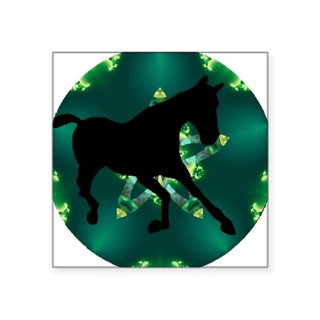 "Horse Square Sticker 3"" x 3"""
