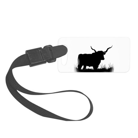 Longhorn Small Luggage Tag