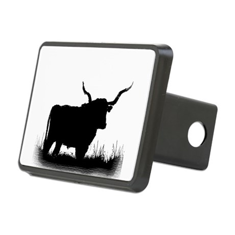 Longhorn Rectangular Hitch Cover