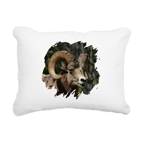 bighorn.png Rectangular Canvas Pillow