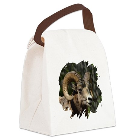 bighorn.png Canvas Lunch Bag