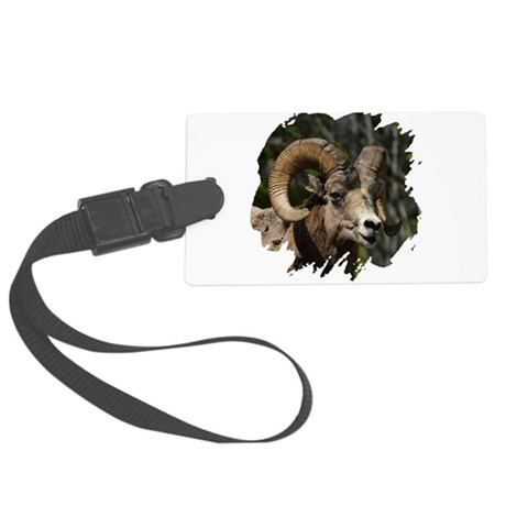 bighorn.png Large Luggage Tag