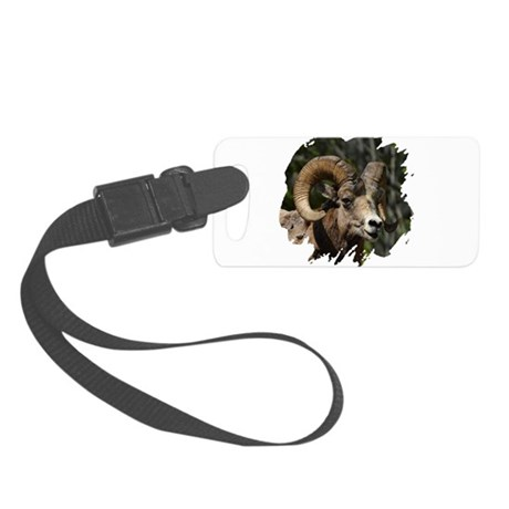 bighorn.png Small Luggage Tag