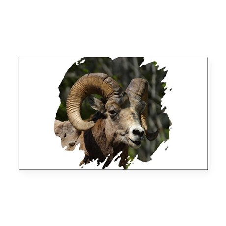 bighorn.png Rectangle Car Magnet