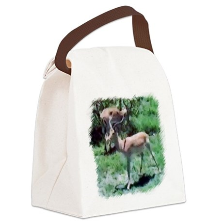 Gazelle Canvas Lunch Bag