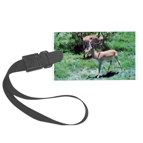Gazelle Large Luggage Tag