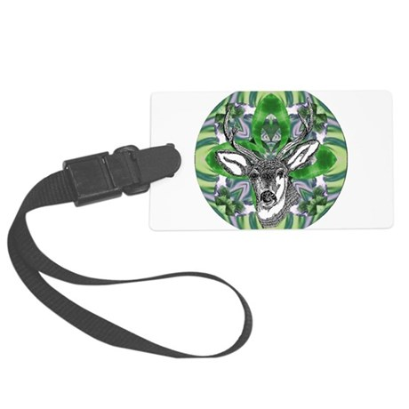 deer6.png Large Luggage Tag