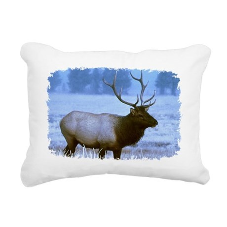 elk Rectangular Canvas Pillow