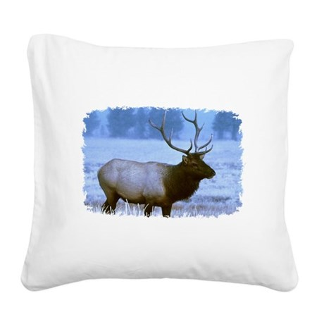 elk Square Canvas Pillow