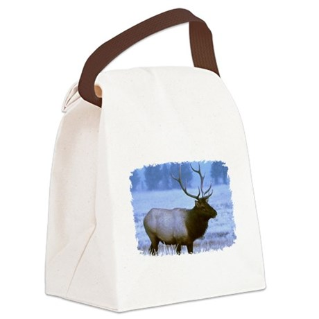 elk Canvas Lunch Bag