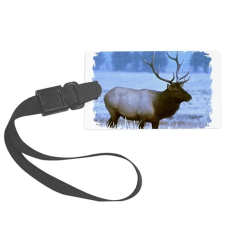 elk Large Luggage Tag