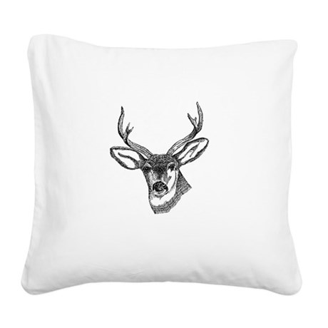 3-deer7.png Square Canvas Pillow