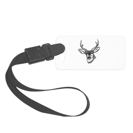 3-deer7.png Small Luggage Tag