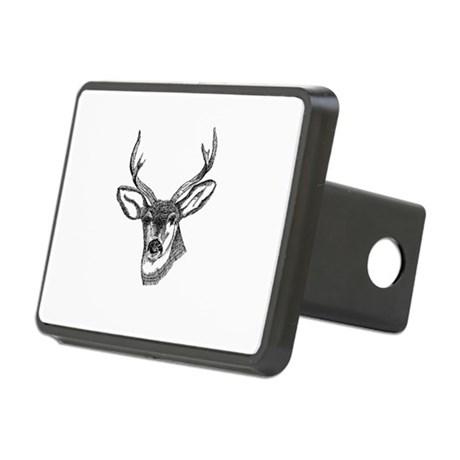 3-deer7.png Rectangular Hitch Cover
