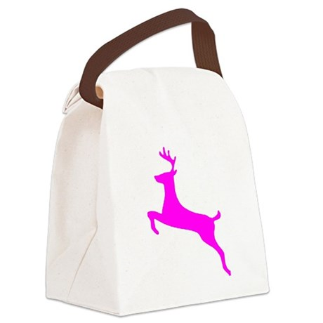 leaping deer Canvas Lunch Bag
