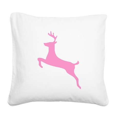 deer5.png Square Canvas Pillow