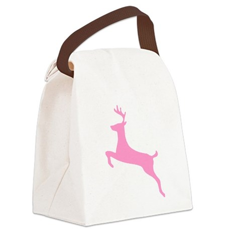 deer5.png Canvas Lunch Bag