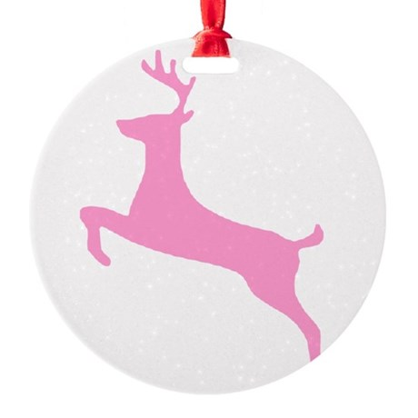 deer5.png Round Ornament