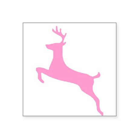 "deer5.png Square Sticker 3"" x 3"""
