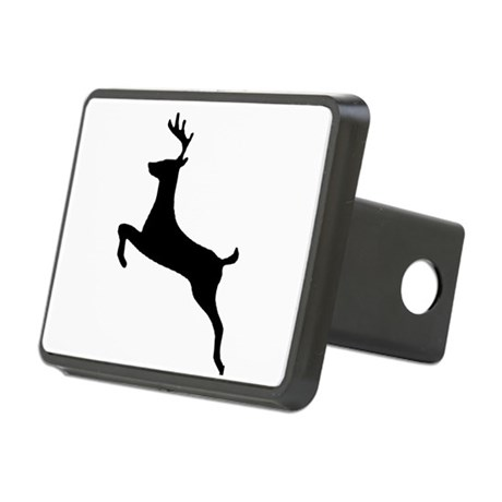 leaping deer Rectangular Hitch Cover