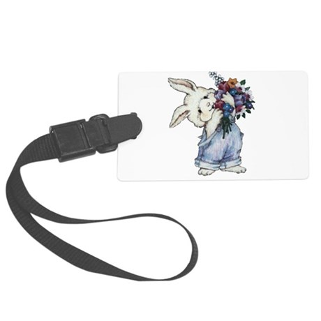 rabbit.png Large Luggage Tag