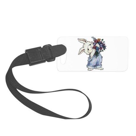 rabbit.png Small Luggage Tag