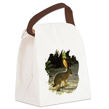 Jackolope1a.png Canvas Lunch Bag