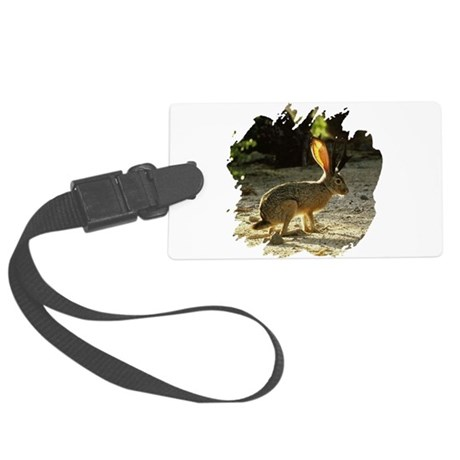 Jackolope1a.png Large Luggage Tag
