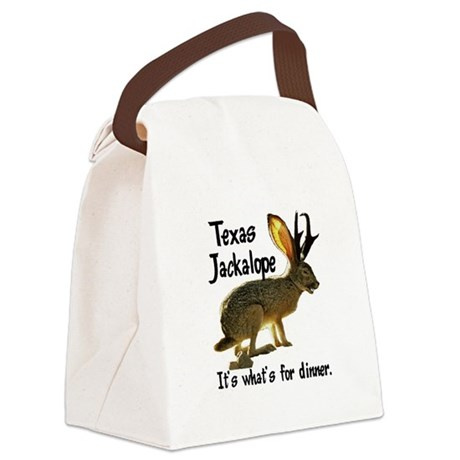 Jackolope6.png Canvas Lunch Bag