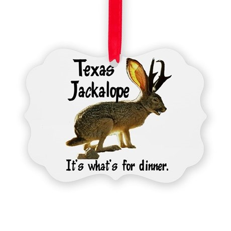 Jackolope6.png Picture Ornament