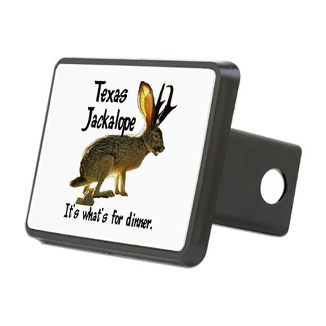 Jackolope6.png Rectangular Hitch Cover