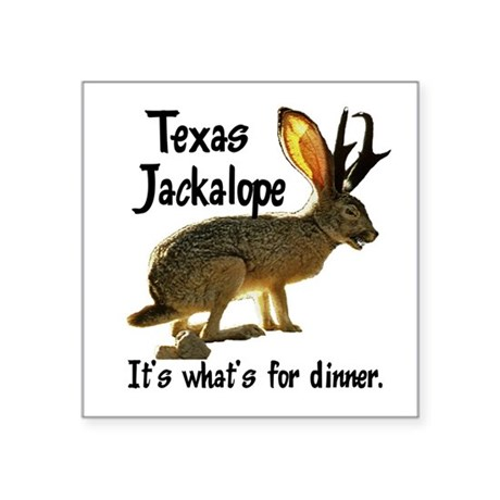"Jackolope6.png Square Sticker 3"" x 3"""