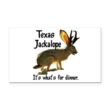 Jackolope6.png Rectangle Car Magnet