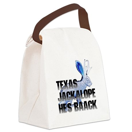 Jackolope5.png Canvas Lunch Bag