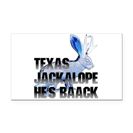 Jackolope5.png Rectangle Car Magnet